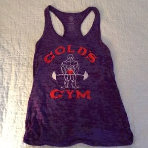 Tops - Gold's gym tank